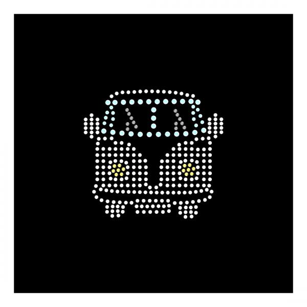 Strassmotiv - kleiner Bus farbig