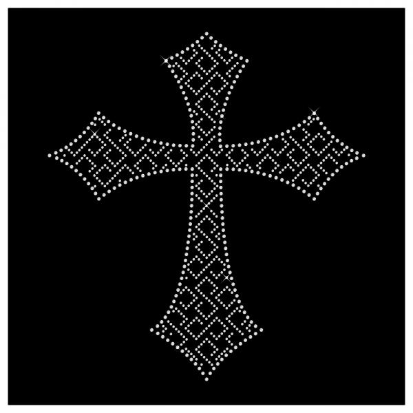 Strassmotiv Kreuz- Strassbild Größe 207 x 222 mm Kreuz3