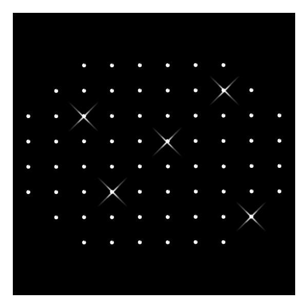 Strassmotiv - Linien