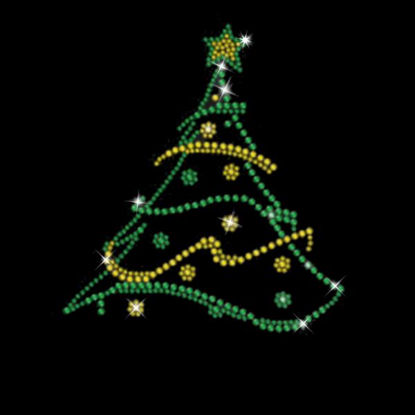 Strassmotiv - Weihnachtsbaum