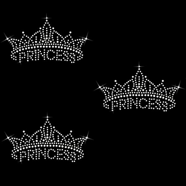 3 Princess Kronen