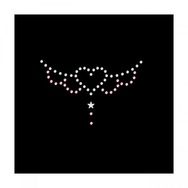 Strassmotiv - kleines Herz mit Flügeln