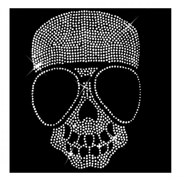Skull mit Brille