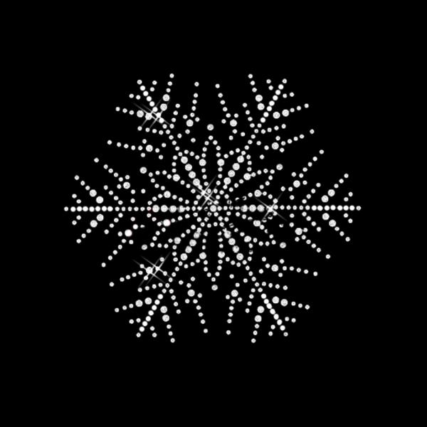 Motiv Schnee-Blume