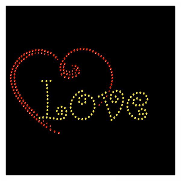 Strassmotiv - Herz-Love hotfix