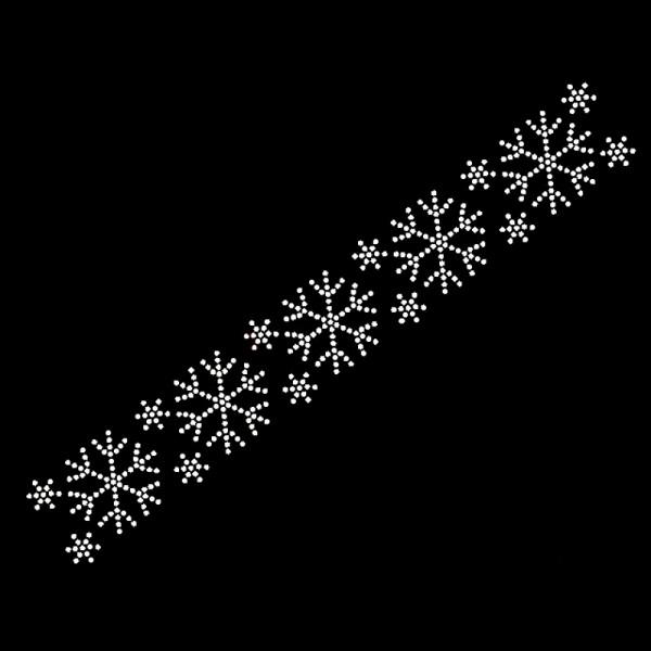 Schneeflocken Borte