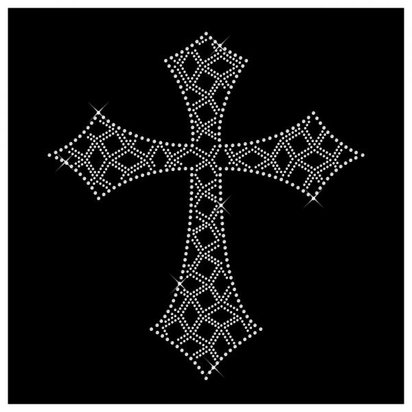Strassmotiv Kreuz- Strassbild Größe 248 x 272 mm Kreuz4
