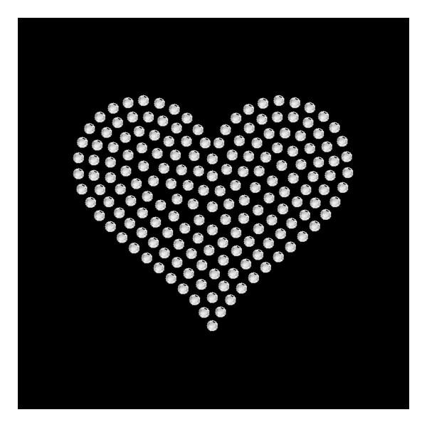 Strassmotiv - Herz gefüllt