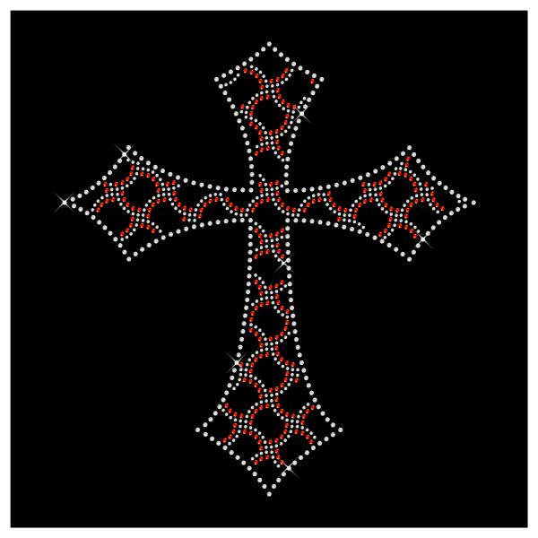 Strassmotiv Kreuz- Strassbild Größe 248 x 272 mm Kreuz7