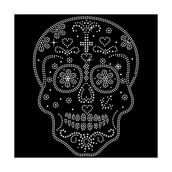 Strassmotiv - sugar Skull