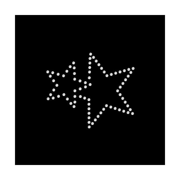 Strassmotiv - kleiner Stern im Stern