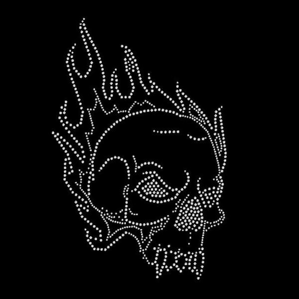 Strassmotiv - Skull schwarz