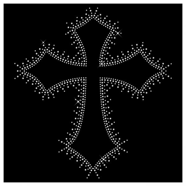 Strassmotiv Kreuz- Strassbild Größe 285 x 310 mm Kreuz5