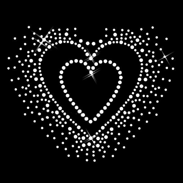 Herz kristallklar