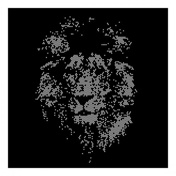 Strassmotiv - Löwe gross